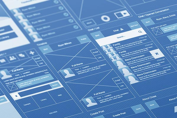 How a website gets built your site might be outdated or you may have blueprints wireframes 5 malvernweather Choice Image